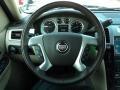 2011 Cadillac Escalade Cashmere/Cocoa Interior Steering Wheel Photo