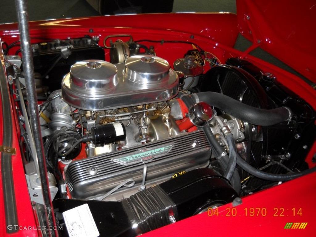 1956 ford thunderbird roadster 312 cid 8v ohv 16 valve v8 engine photo 57269135