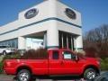 2012 Vermillion Red Ford F250 Super Duty XLT SuperCab 4x4  photo #1