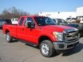 Vermillion Red 2012 Ford F250 Super Duty Gallery