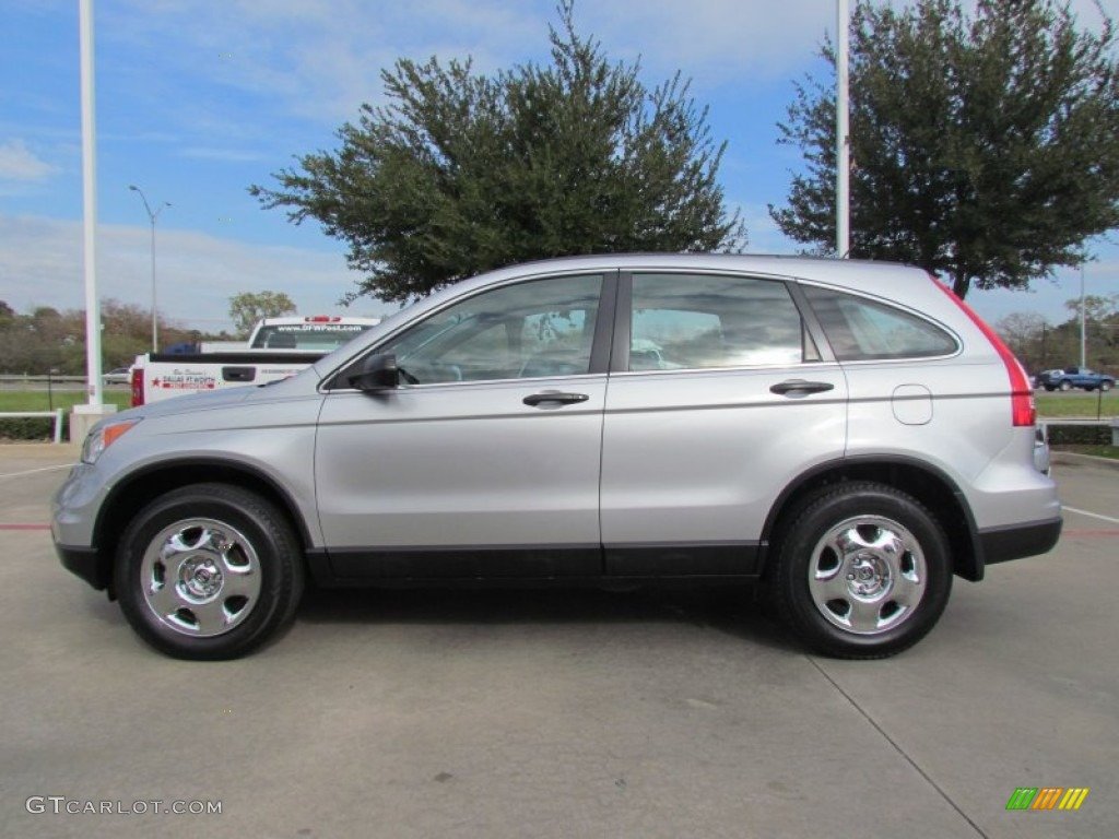 2010 CR-V LX - Alabaster Silver Metallic / Gray photo #1