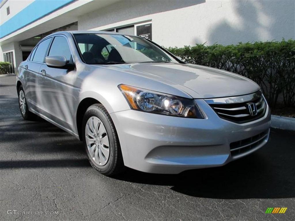 Alabaster Silver Metallic 2012 Honda Accord Lx Sedan Exterior Photo 57290052 Gtcarlot Com