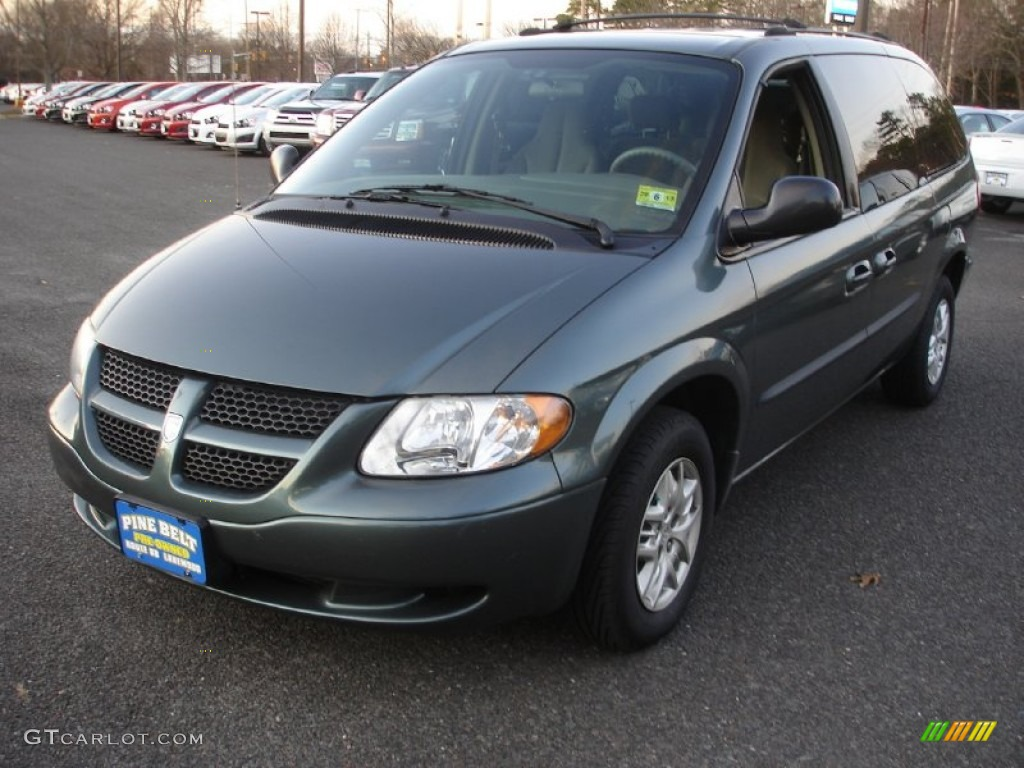 2003 onyx green pearl dodge grand caravan sport 57271401. Black Bedroom Furniture Sets. Home Design Ideas