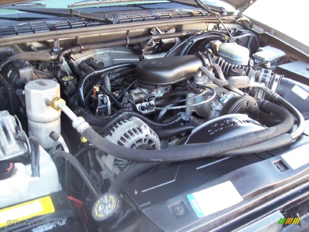 2001 Gmc Jimmy Sle 4x4 4 3 Liter Ohv 12 Valve V6 Engine