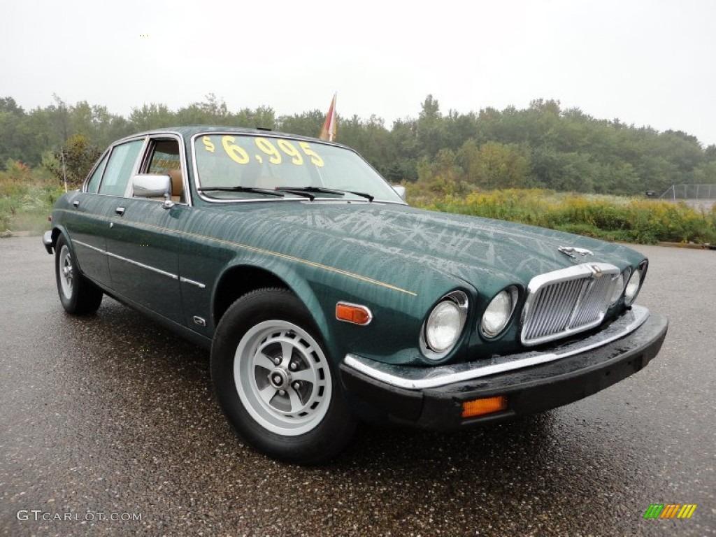 1985 Racing Green Metallic Jaguar XJ XJ6 #57271354 : GTCarLot.com - Car Color Galleries