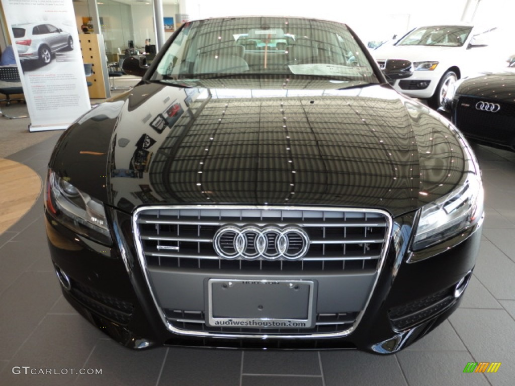 Brilliant Black 2012 Audi A5 2.0T quattro Coupe Exterior Photo