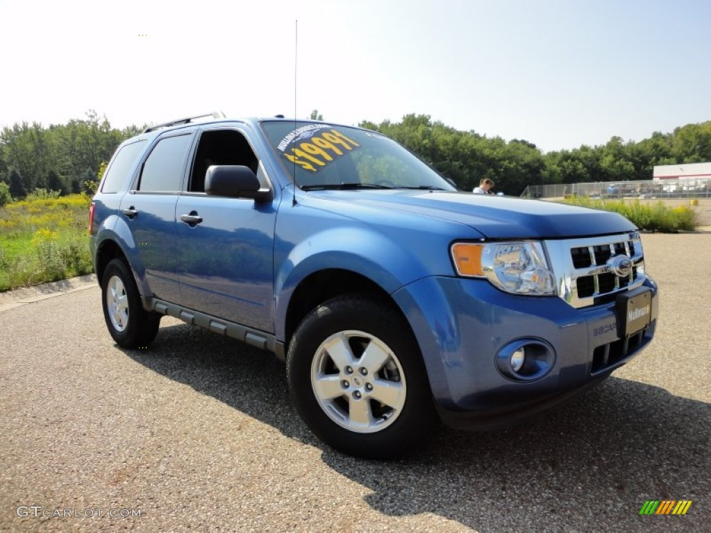 2009 Escape XLT V6 - Sport Blue Metallic / Charcoal photo #1