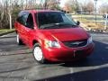 2004 Inferno Red Tinted Pearlcoat Chrysler Town & Country LX #57272157