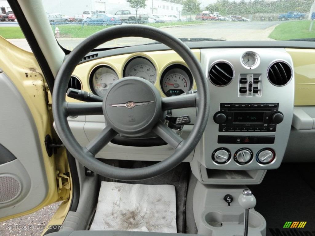 2007 pastel yellow chrysler pt cruiser touring 57271320. Black Bedroom Furniture Sets. Home Design Ideas