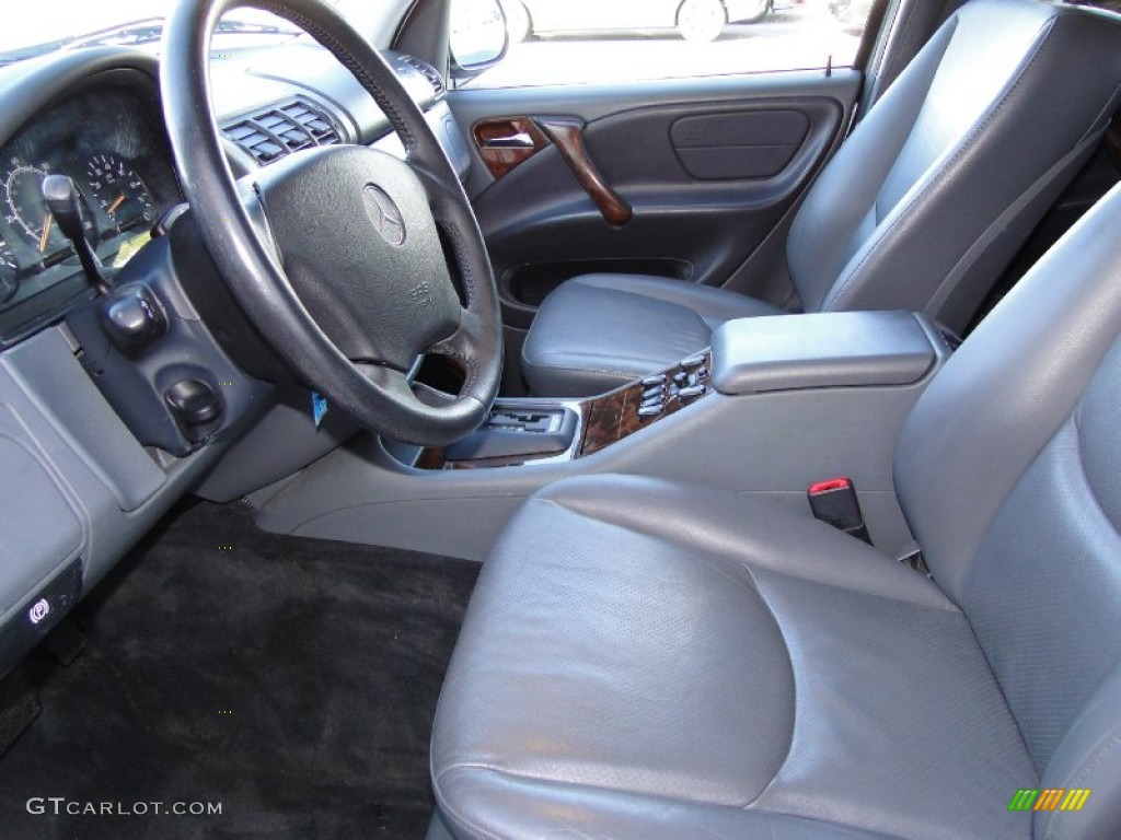 1999 Mercedes Benz Ml 430 4matic Interior Color Photos