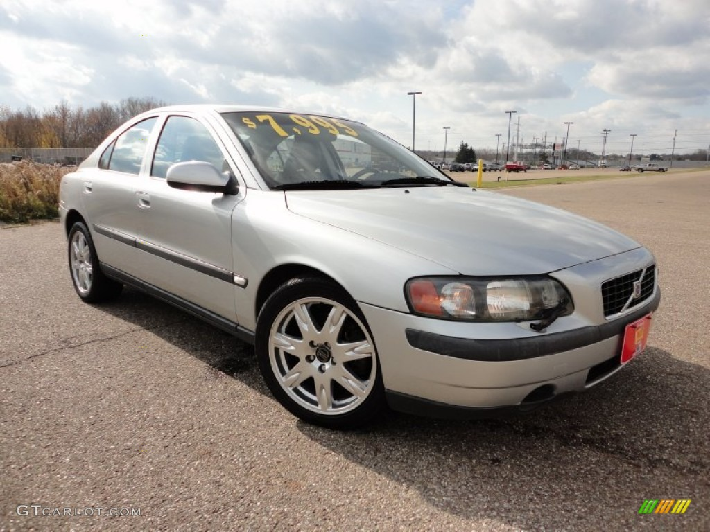 2002 silver metallic volvo s60 2 4t awd 57271286 car color galleries. Black Bedroom Furniture Sets. Home Design Ideas