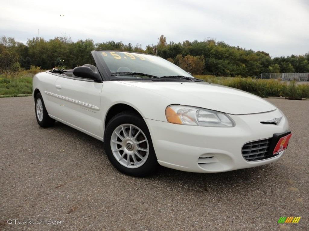 2001 stone white chrysler sebring lx convertible 57271283 gtcarlot com car color galleries gtcarlot com