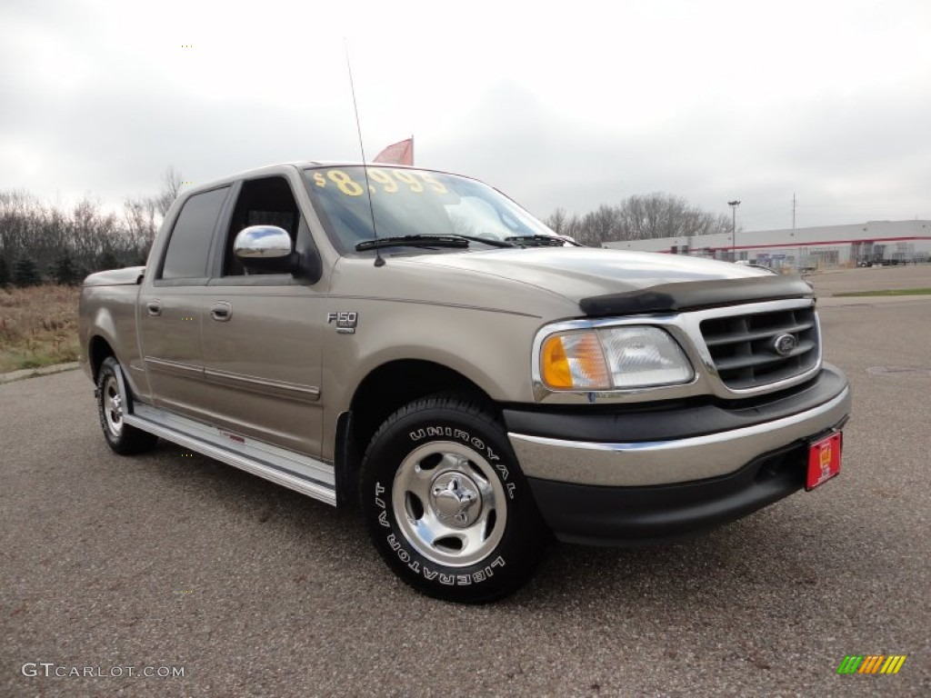 2001 ford f150 xlt supercrew arizona beige metallic color medium. Cars Review. Best American Auto & Cars Review