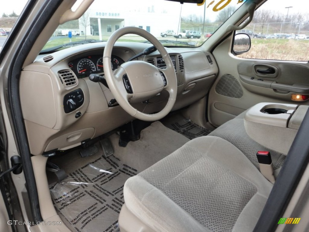 2001 Ford F150 XLT SuperCrew interior Photo #57322261