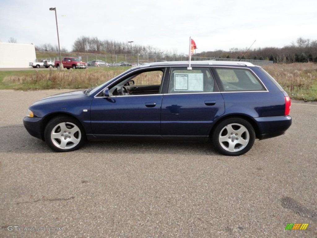 Santorin Blue Pearl Effect 2001 Audi A4 2 8 Quattro Avant