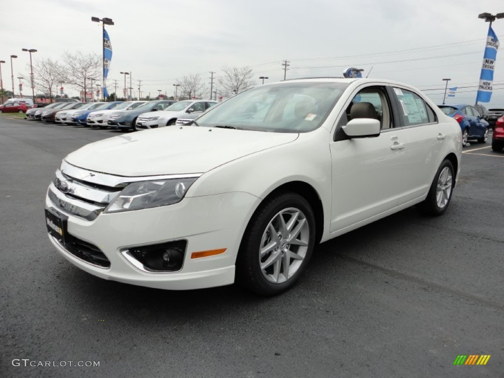 2012 white suede ford fusion sel 57271278 car color galleries. Black Bedroom Furniture Sets. Home Design Ideas