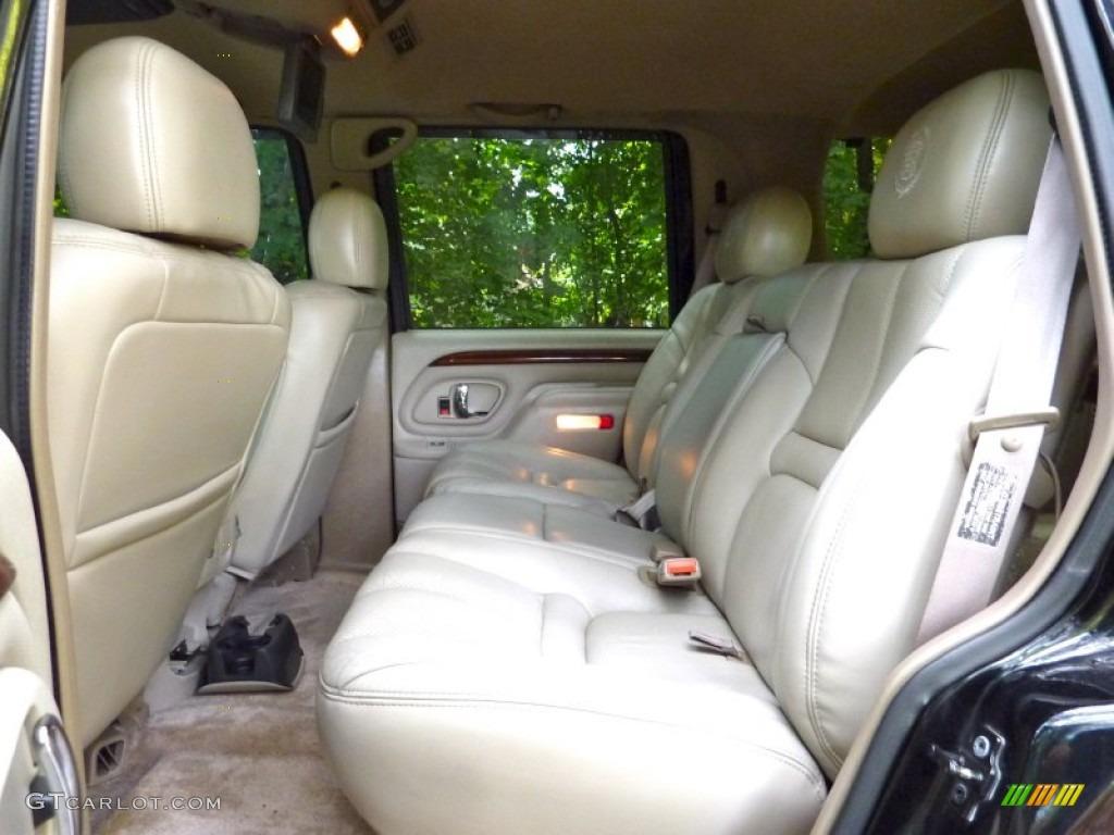 Neutral Shale Interior 2000 Cadillac Escalade 4WD Photo ...