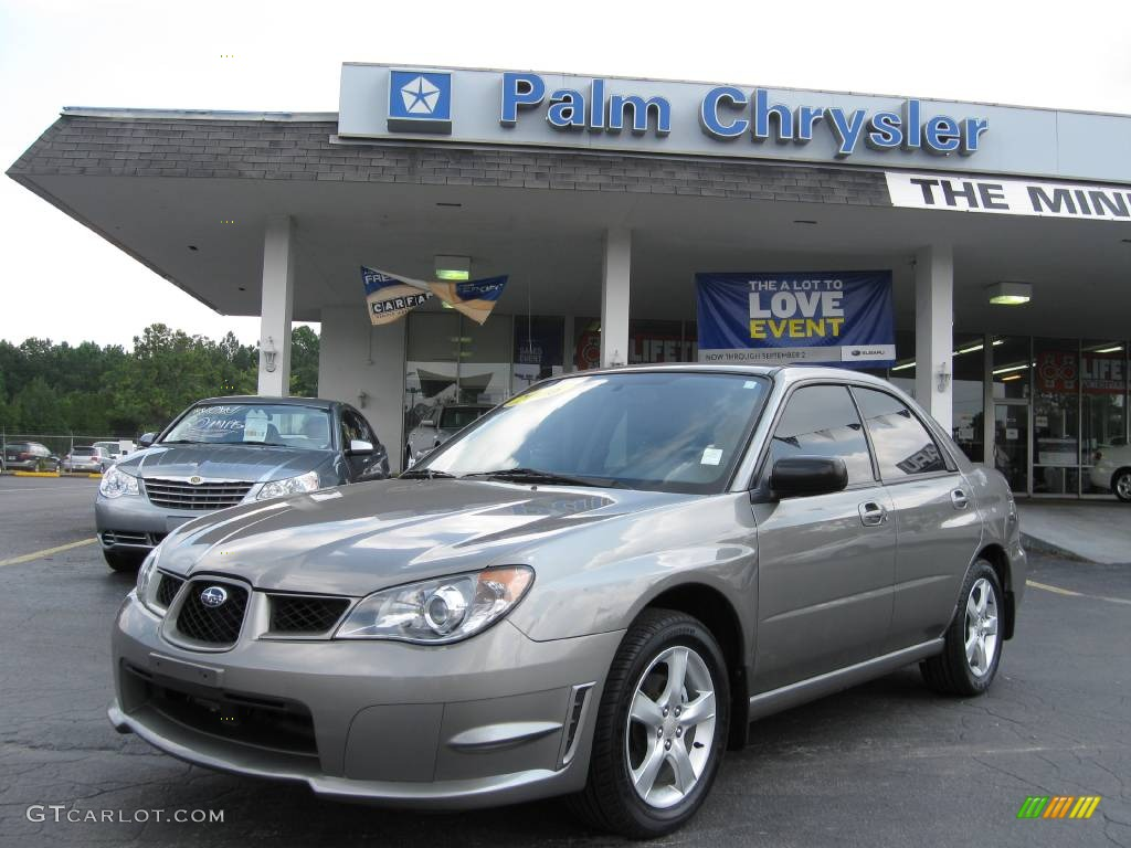 2006 steel gray metallic subaru impreza 2.5i sedan #544170