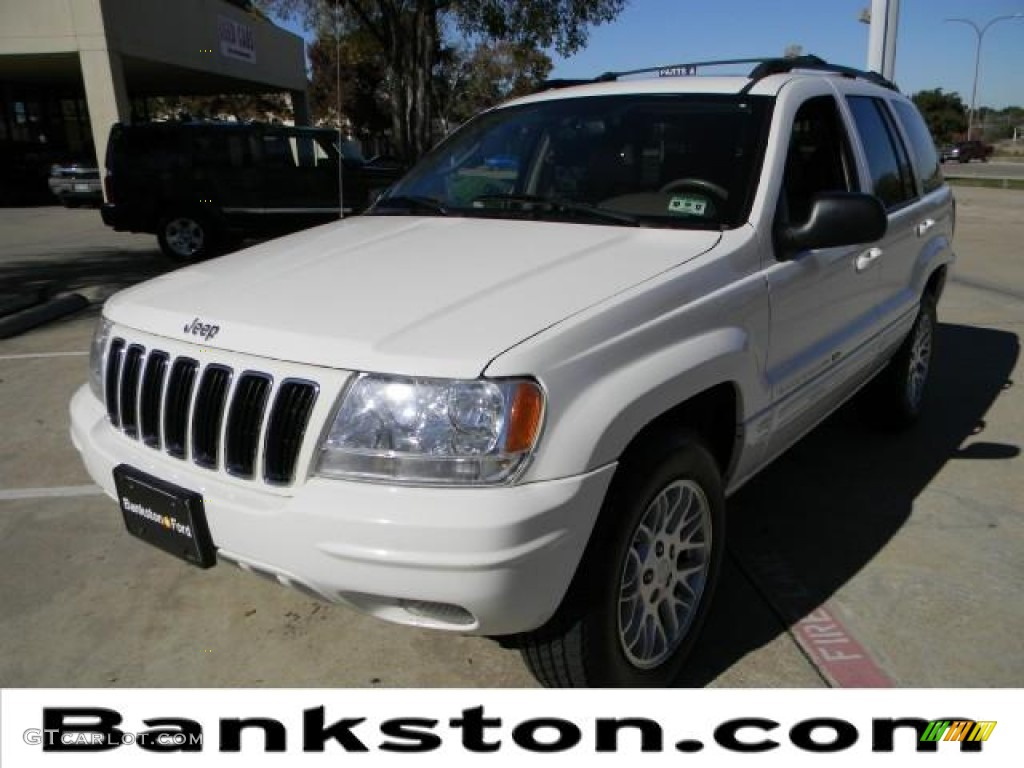 2003 stone white jeep grand cherokee limited 57271160 car color galleries. Black Bedroom Furniture Sets. Home Design Ideas