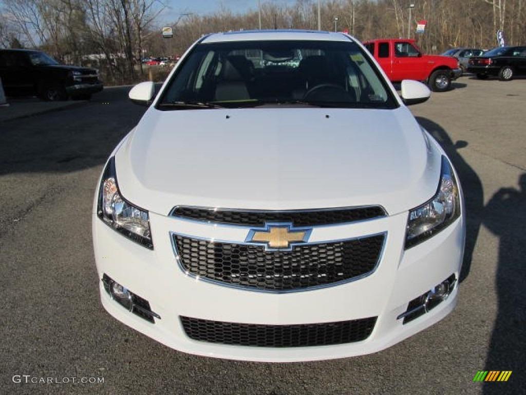 Summit White 2012 Chevrolet Cruze Ltz Rs Exterior Photo 57337101