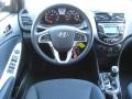 Dashboard of 2012 Accent SE 5 Door