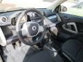 2012 fortwo pure coupe Plain Black Interior