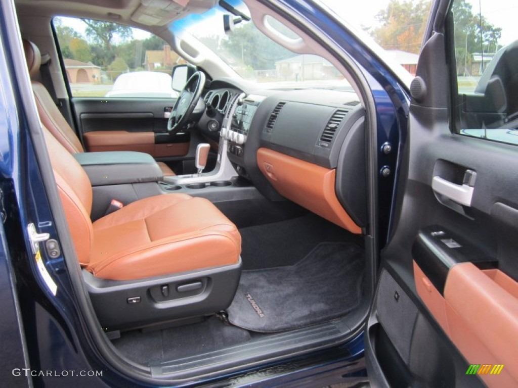 2007 Toyota Tundra Crewmax Interior: 2007 Slate Metallic