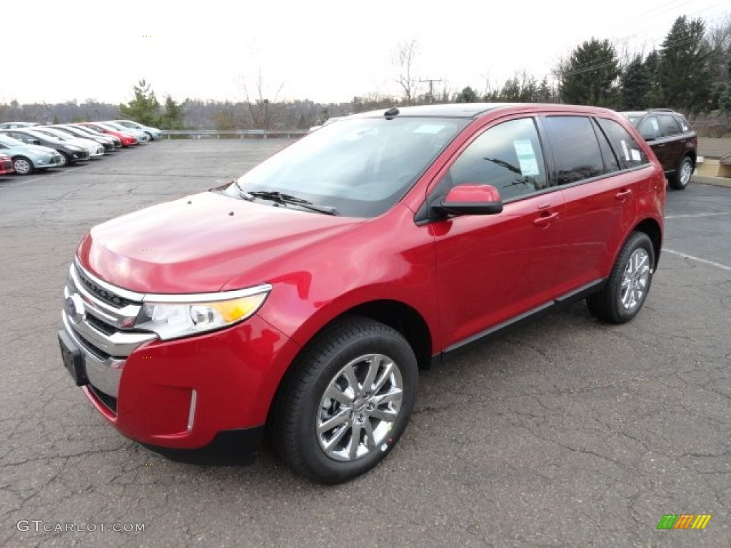 Red Candy Metallic 2012 Ford Edge Sel Awd Exterior Photo 57365344