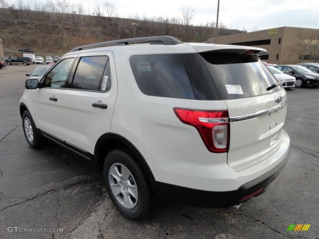 White Suede 2012 Ford Explorer 4wd Exterior Photo 57365476