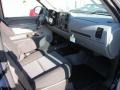 2012 Imperial Blue Metallic Chevrolet Silverado 1500 LS Extended Cab 4x4  photo #9
