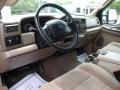 2004 Ford F250 Super Duty Medium Parchment Interior Prime Interior Photo