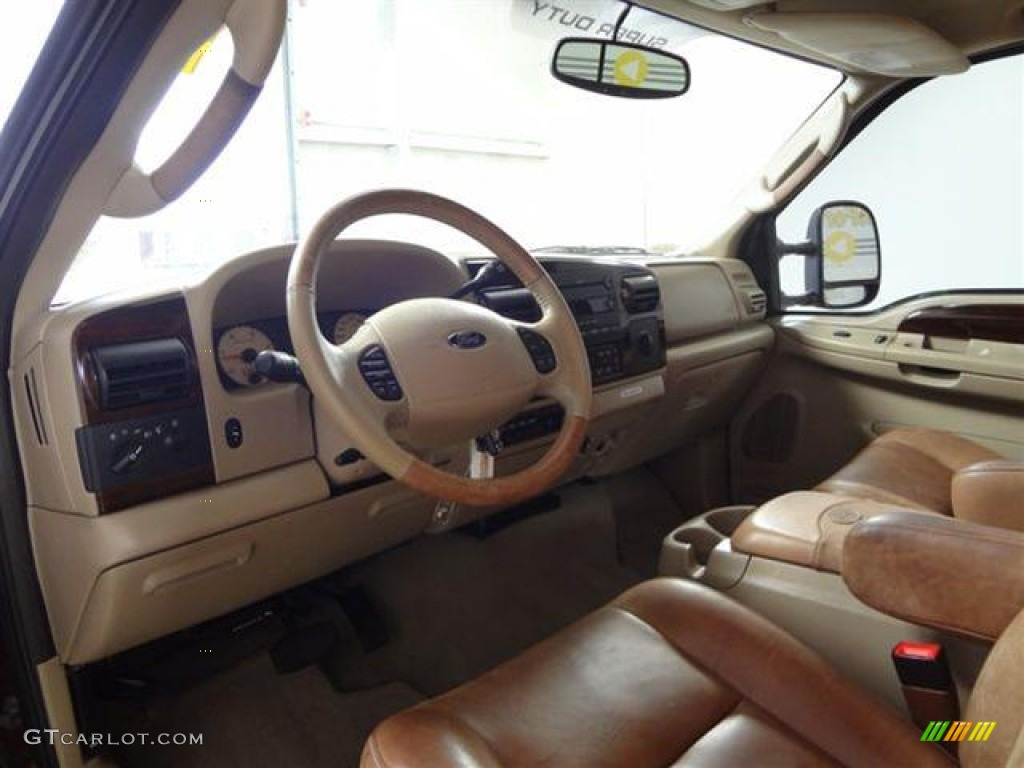 2005 Ford F250 Super Duty King Ranch Crew Cab Interior Color Photos