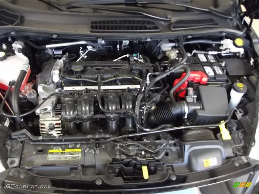 2012 ford fiesta se hatchback 1 6 liter dohc 16 valve ti vct duratec 4 cylinder engine photo. Black Bedroom Furniture Sets. Home Design Ideas