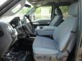 2011 Ford F250 Super Duty Steel Gray Interior Interior Photo