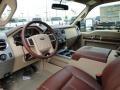 2011 Ford F250 Super Duty Chaparral Leather Interior Prime Interior Photo
