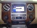 2011 Ford F250 Super Duty Adobe Beige Interior Controls Photo