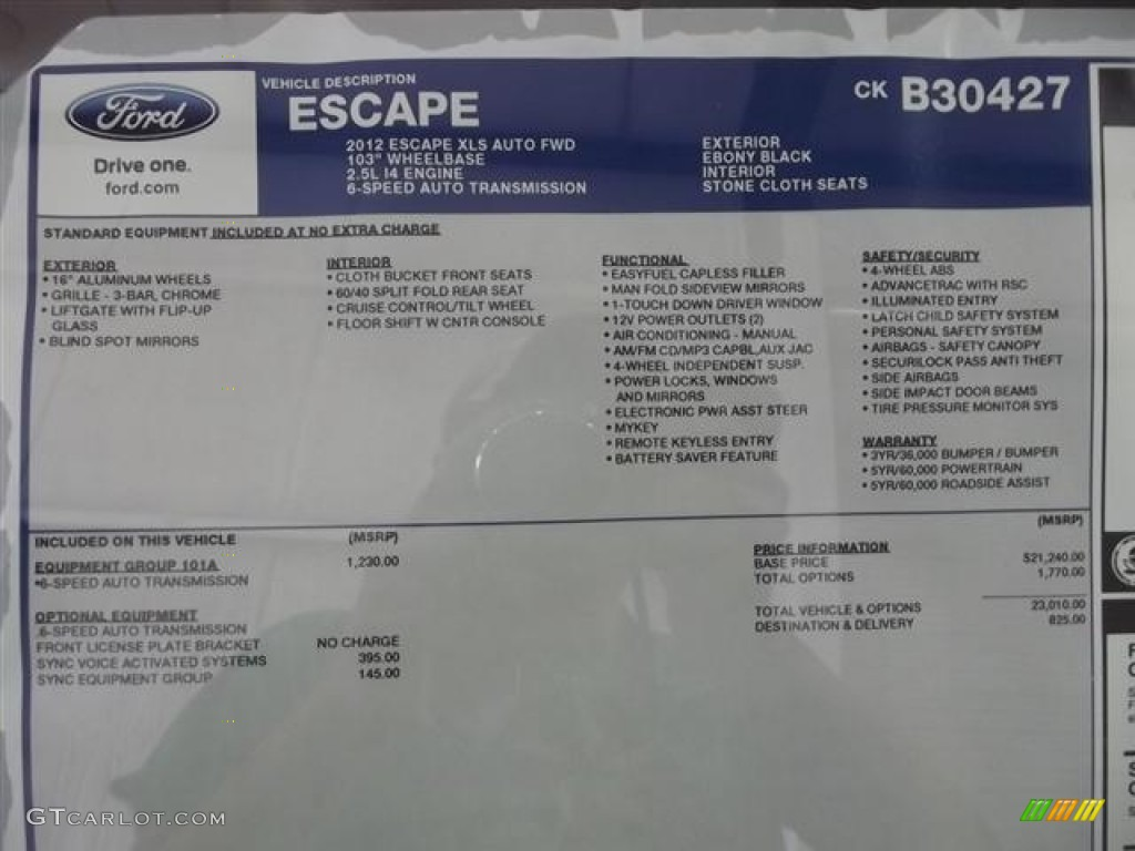 ford escape xlt 2012 html with Window Sticker 57413492 on Suv With Split Tailgate moreover Engine 53616087 together with 2016 Venge Weight besides 475805 Leveled Platinum Suggestions Ideas Pics Needed likewise Choosing The Right Battery.