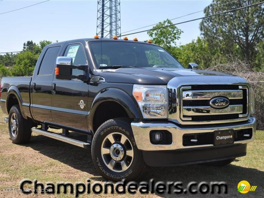 2011 f250 super duty lariat crew cab 4x4 tuxedo black metallic black two tone