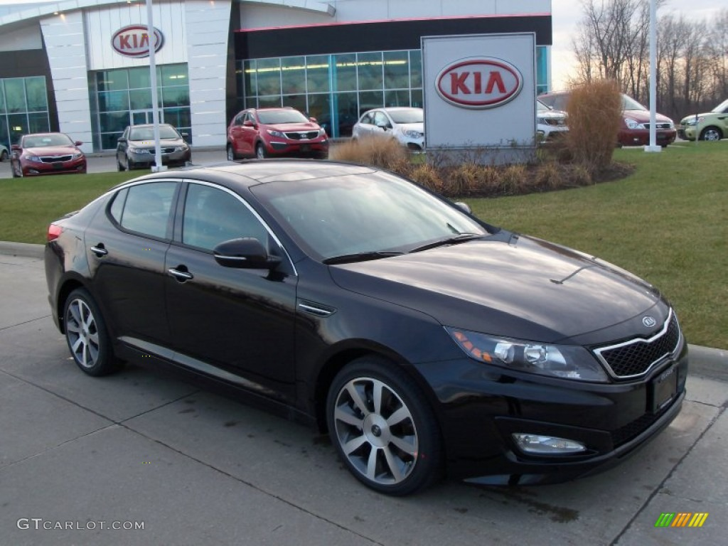 Kia Optima 2013 Black Ebony Black Kia Optima
