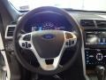 2012 Ford Explorer Charcoal Black/Pecan Interior Steering Wheel Photo