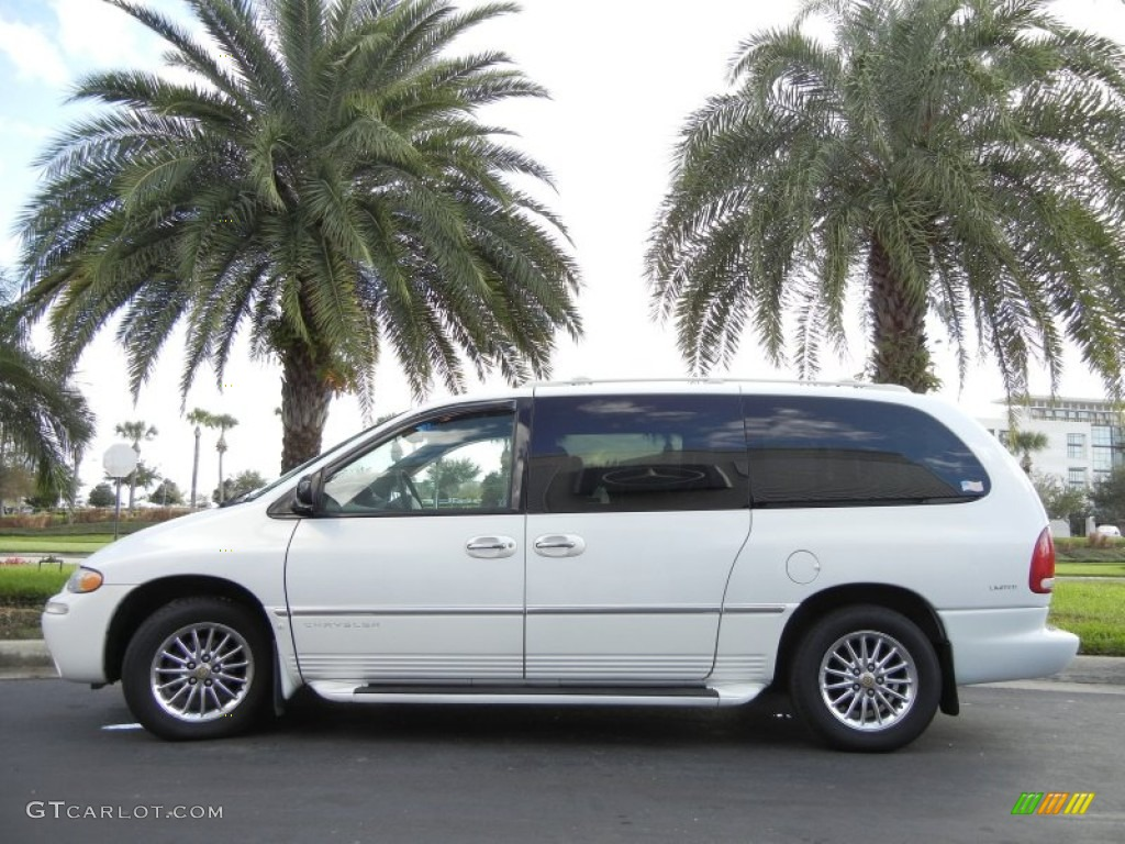 golden white pearl 2000 chrysler town country limited exterior photo 57417956. Black Bedroom Furniture Sets. Home Design Ideas