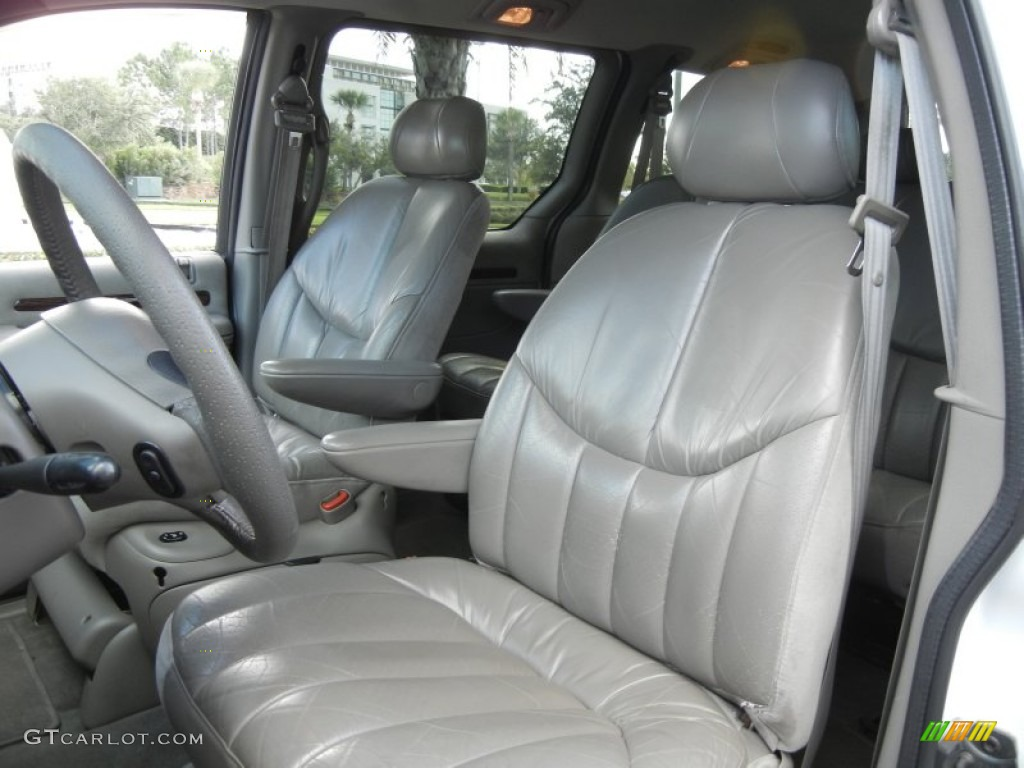 taupe interior 2000 chrysler town country limited photo 57418058. Black Bedroom Furniture Sets. Home Design Ideas