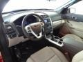 2012 Ford Explorer Medium Light Stone Interior Prime Interior Photo