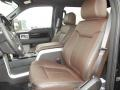  2012 F150 Platinum SuperCrew 4x4 Platinum Sienna Brown/Black Leather Interior