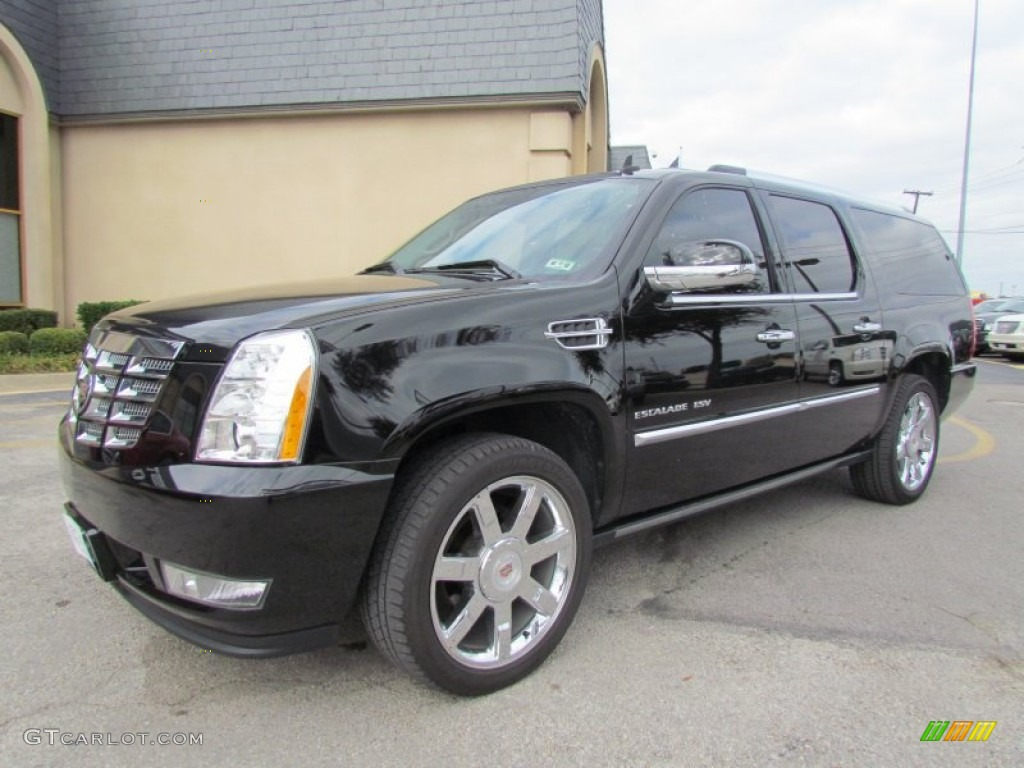 black raven 2008 cadillac escalade esv exterior photo. Black Bedroom Furniture Sets. Home Design Ideas