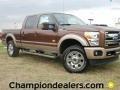 2012 Golden Bronze Metallic Ford F250 Super Duty King Ranch Crew Cab 4x4  photo #1
