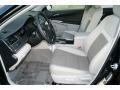 2012 Camry Hybrid LE Ash Interior