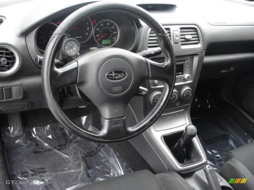 Black Interior 2005 Subaru Impreza Wrx Sedan Photo 57440621 Gtcarlot Com