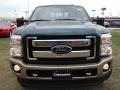 2012 Forest Green Metallic Ford F250 Super Duty King Ranch Crew Cab 4x4  photo #3