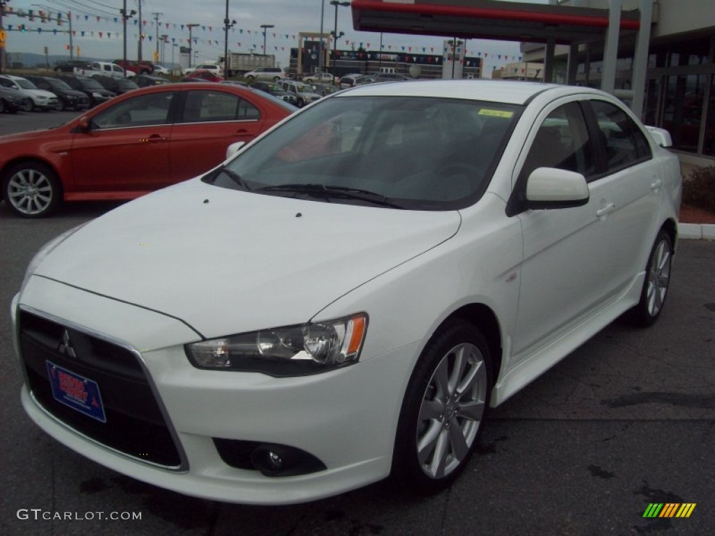 2012 Wicked White Mitsubishi Lancer GT #57447263 | GTCarLot.com - Car Color Galleries